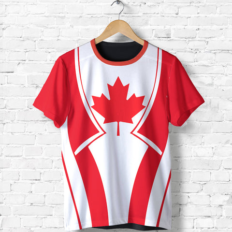 Canada In My Heart Red T Shirt