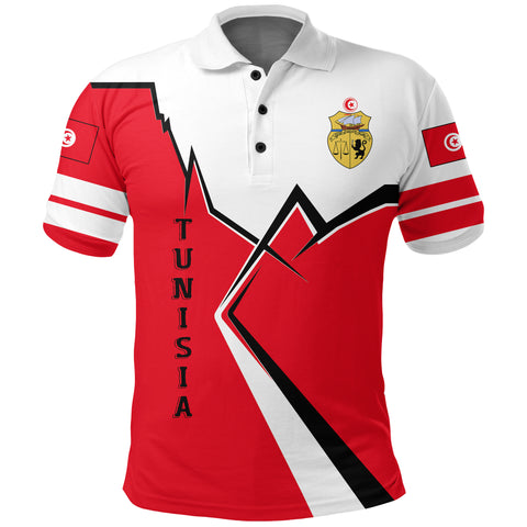 Tunisia Polo Shirt Lightning A02