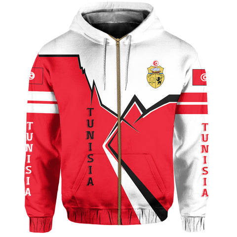 Image of Tunisia Zip Hoodie Lightning A02