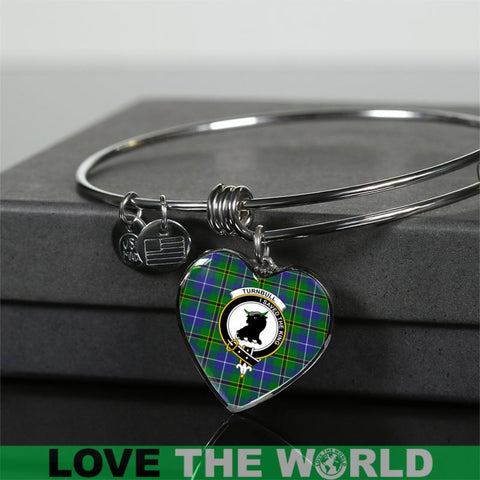 Image of Turnbull Hunting Tartan Silver Bangle - Sd1 Luxury Bangle (Silver) Jewelries