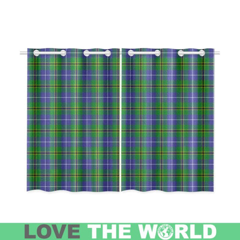 Image of Turnbull Hunting Tartan Window Curtain - Bn02 Curtains