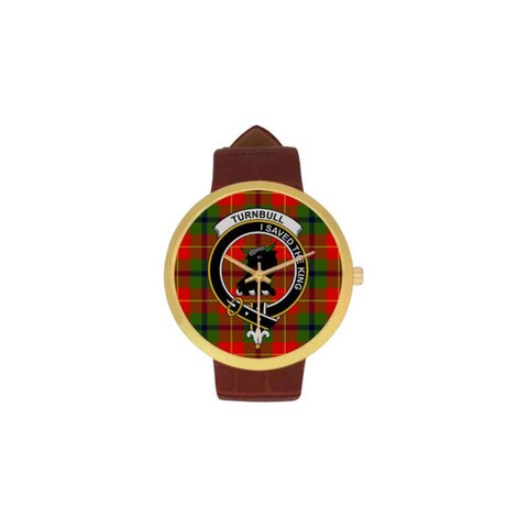 Turnbull Clan Badge Tartan Watch
