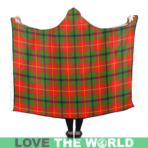 Turnbull Tartan Hooded Blanket - M One Size / Hooded Blanket 50X40 Blankets