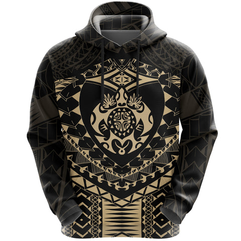 Image of Polynesian Tattoo Turtle Hoodie K5