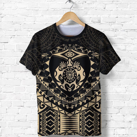 Polynesian Tattoo Turtle T Shirt K5