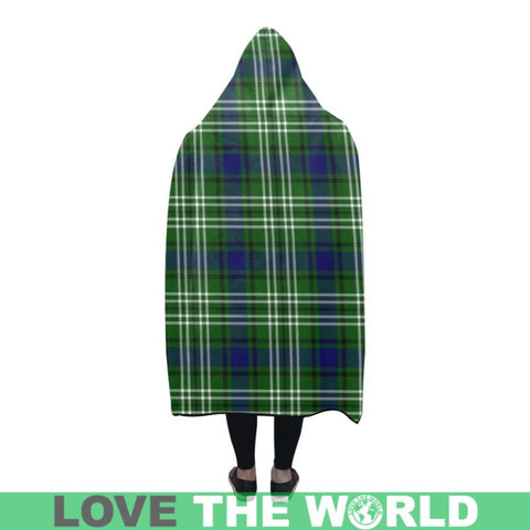 Tweedside Tartan Hooded Blanket - M One Size / Hooded Blanket 50X40 Blankets