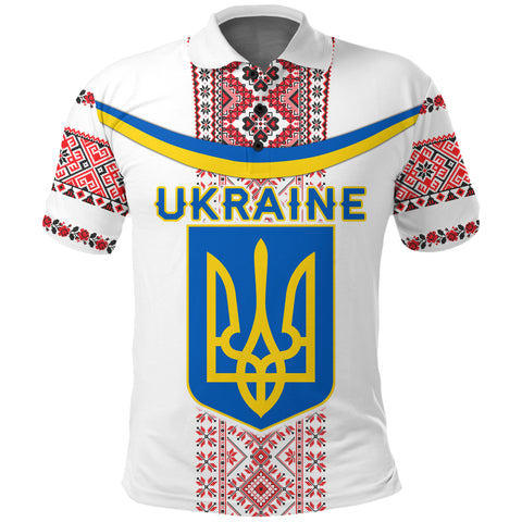 Image of Ukraine Polo Shirt - Vibes Version K8