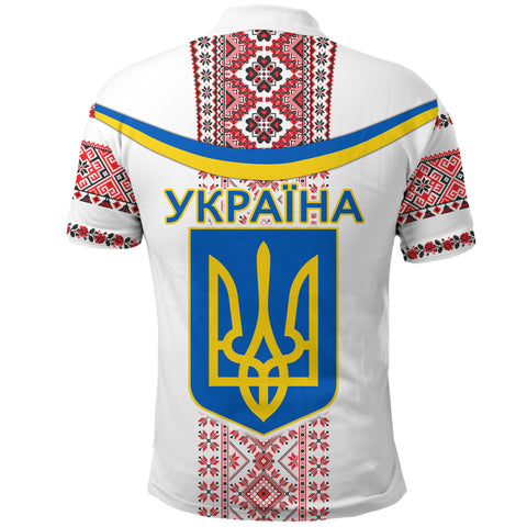 Ukraine Polo Shirt - Vibes Version K8