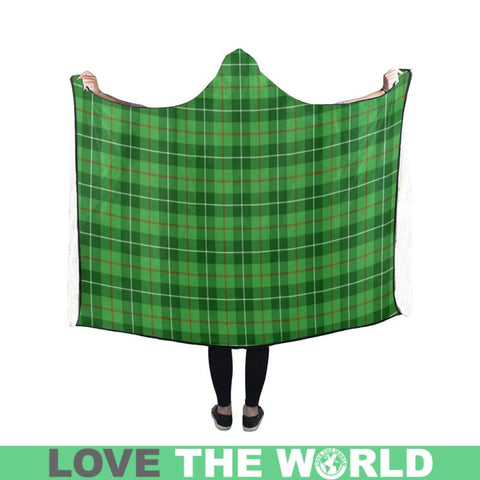 Untitled - 3 Tartan Hooded Blanket M One Size / Hooded Blanket 80X56 Blankets