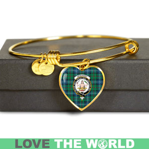 Urquhart Ancient Tartan Golden Bangle - BN01