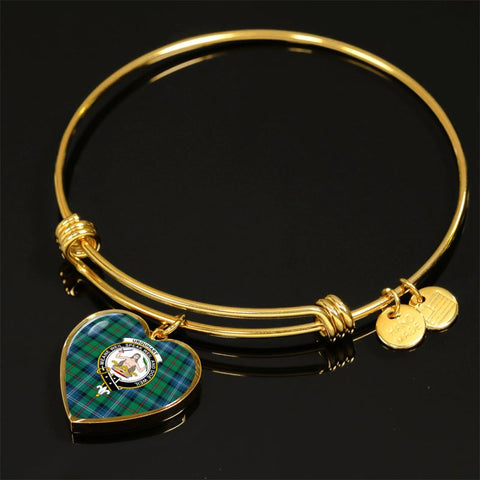 Urquhart Ancient Tartan Golden Bangle - Bn01 Jewelries