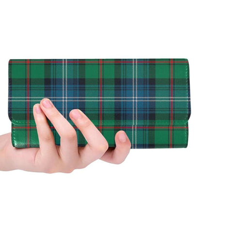 Urquhart Ancient Tartan Trifold Wallet Hj4 One Size / Urquhart Ancient Black Womens Trifold Wallet