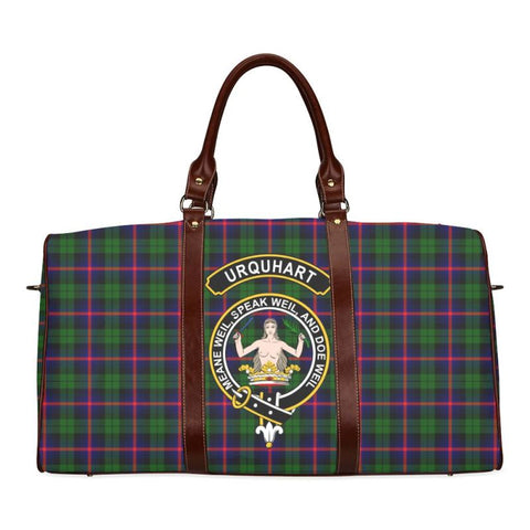 Tartan Travel Bag - Urquhart Clan | Scottish Travel bag | 1sttheworld