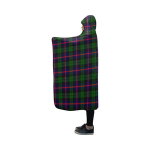 Urquhart Modern Tartan Hooded Blanket - M One Size / Hooded Blanket 50X40 Blankets