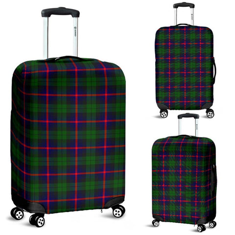 Image of Urquhart Modern Tartan Luggage Cover Hj4 | Love The World