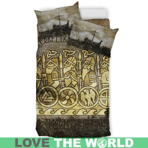 Viking Norse Mythology, viking bedding set, viking duvet cover, viking man, viking symbols