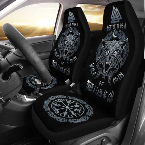 Vikings - Be Wolf Of Odin Car Seat Cover A5 Covers