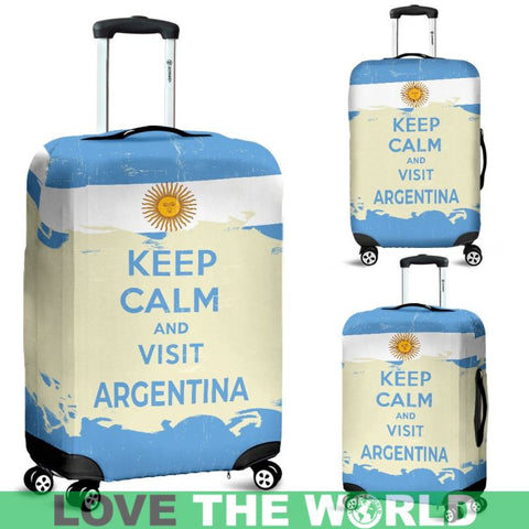 Visit Argentina Luggage Cover K5 | Love The World