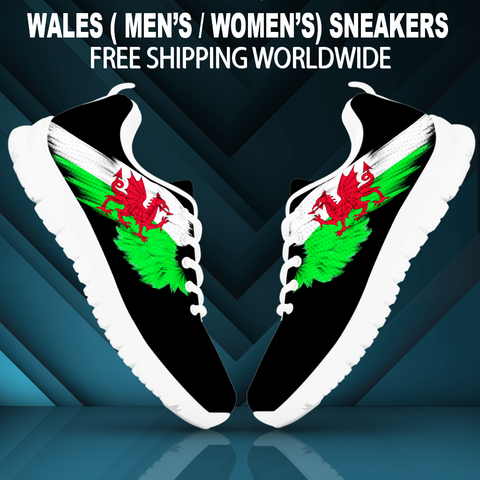 Image of Wales (Men's / Women'S) Black Sneakers A9