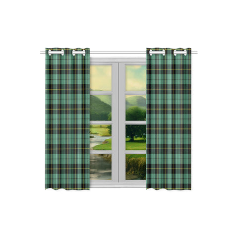 Image of Wallace Hunting Ancient Tartan Window Curtain - Bn | 1sttheworld.com
