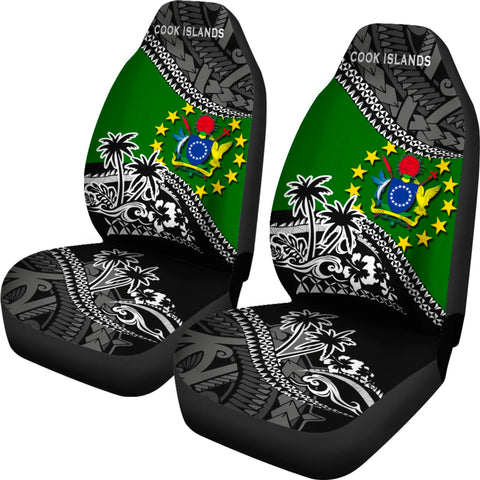 Image of Cook Islands Car Seat Covers Fall In The Wave 2