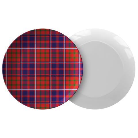 Cameron Of Lochiel Modern  Tartan Dinner Plate A9 |Dinnerware| Love The World