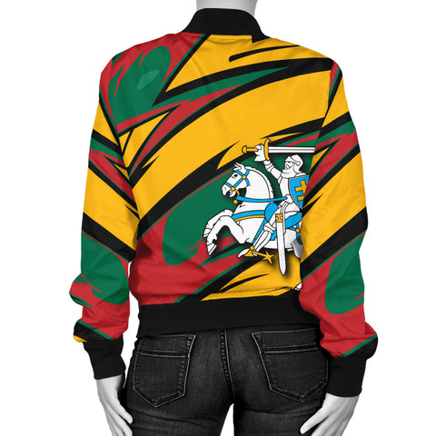 Lithuania Knight Forces Bomber Jacket - Lode Style - JR