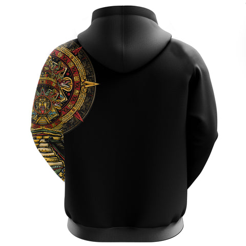 Mexico Hoodie Aztec Sun Stone Tattoo A7