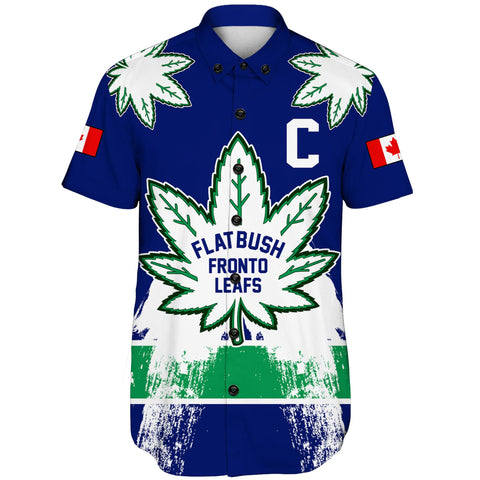 1stCanada Short Sleeve Shirt Flatbush Zombies Fronto Maple Leafs A7