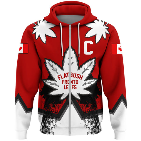 1stCanada Zip Hoodie Flatbush Zombies Fronto Maple Leafs A7