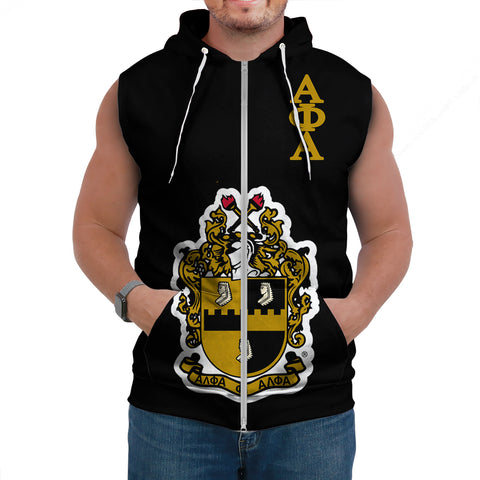 Image of Alpha Phi Alphla Establish 1906 Sleeveless Hoodie A27