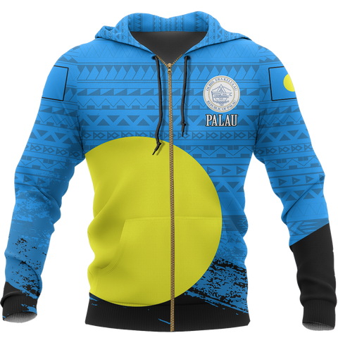 Image of Palau Special Zip Hoodie | Clothing | Love the World