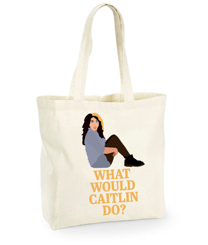 'What Would Caitlin Do?' Tote Bag