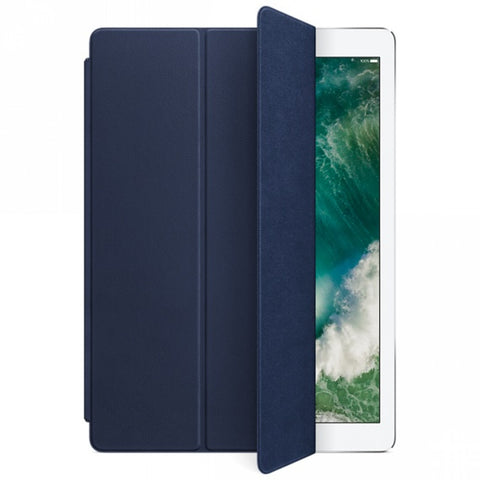 Apple Leather Smart Cover for 12.9-inch iPad Pro - Midnight Blue