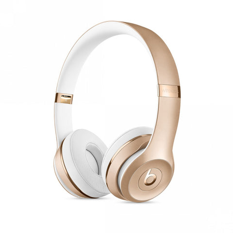 Beats Solo3 Wireless On-Ear Headphones – Gold