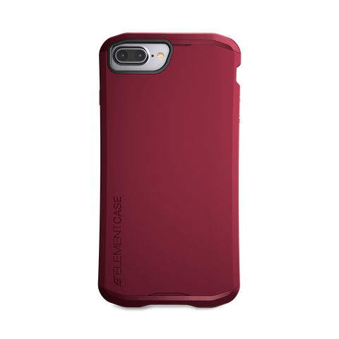 ElementCase AURA case for iPhone 8 / 7 / 6s Plus - Deep Red