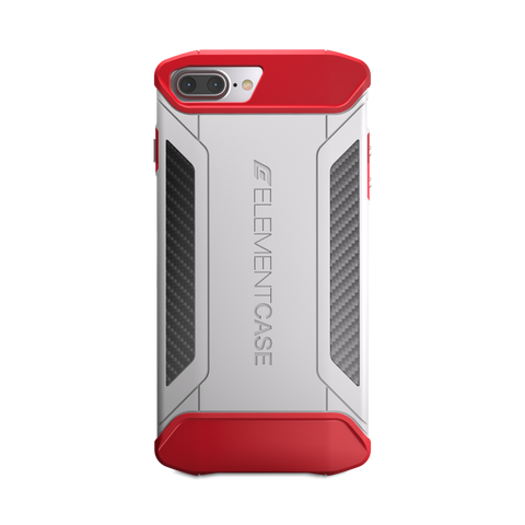 ElementCase CFX case for iPhone 8 / 7 / 6s Plus - White / Red