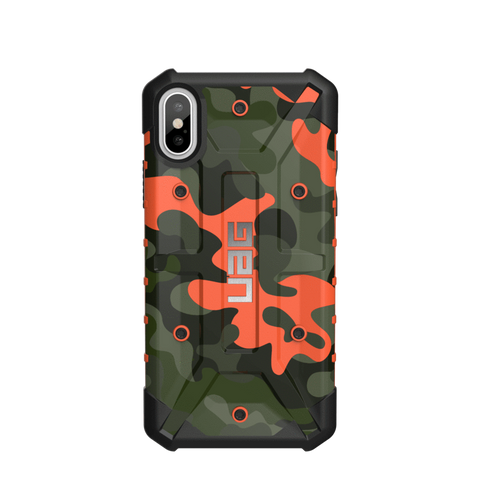 UAG Pathfinder SE camo case for iPhone XS / X - Rust