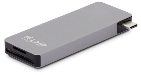 LMP USB-C BASIC HUB - Grey