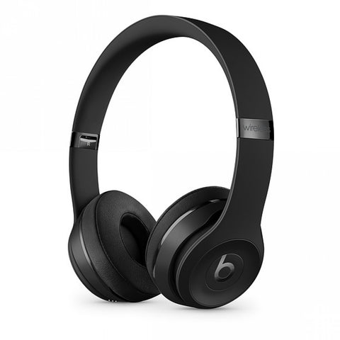 Beats Solo3 Wireless On-Ear Headphones – Matte Black