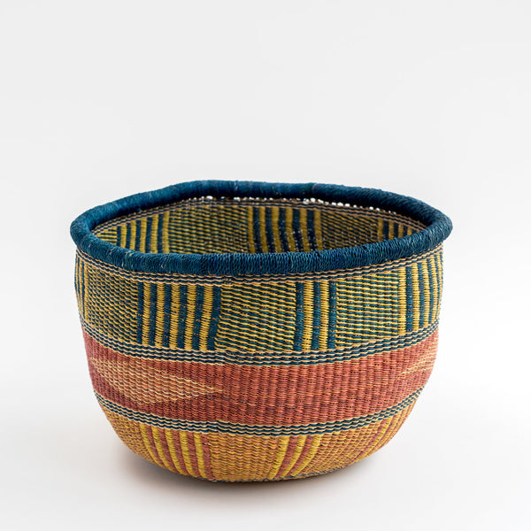 colourful hand woven African basket tilly and cub .com