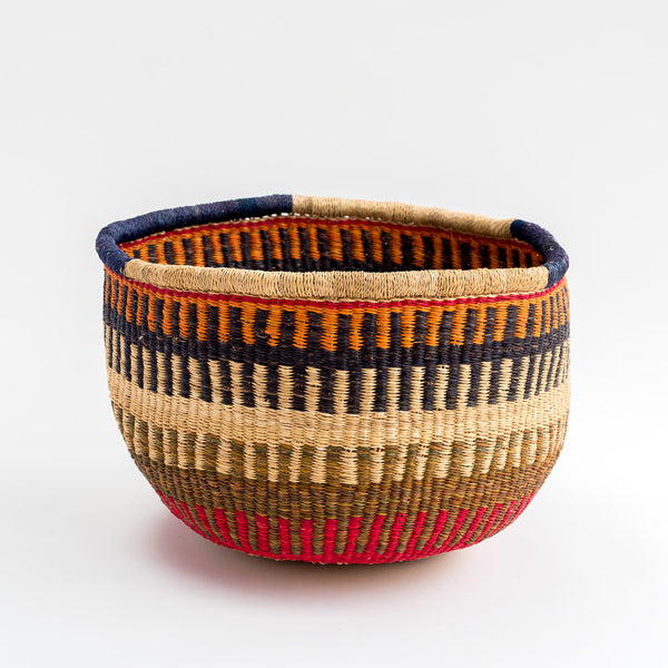 colourful african hand woven fair trade basket tilly and cub
