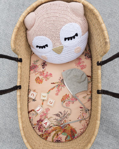 tilly and cub moses basket bedding