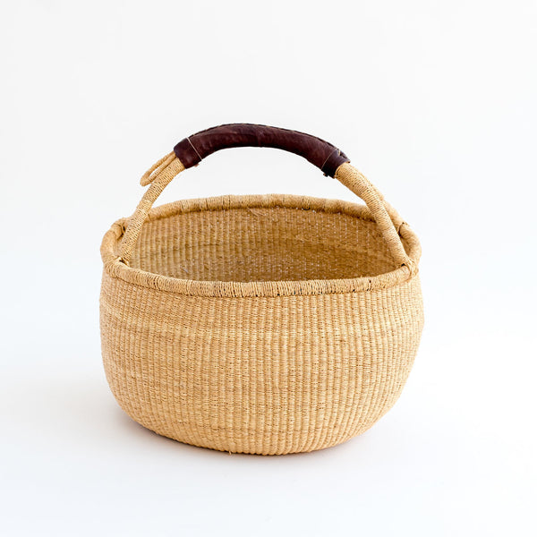 woven fairtrade homeware african basket tilly and cub bolga basket