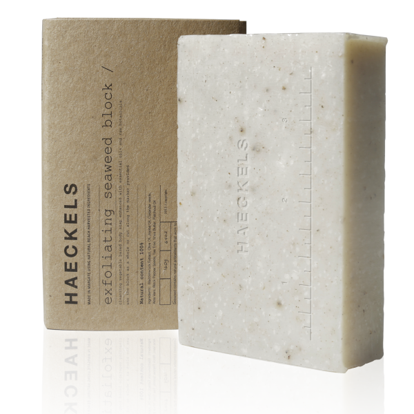 Haeckels Exfoliating Soap Block - The Method