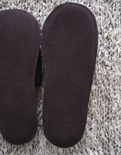 Linen Slippers with Leather Sole - Graphite