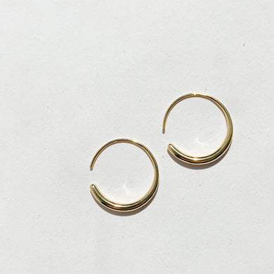 Maia Smooth Hook Earrings G