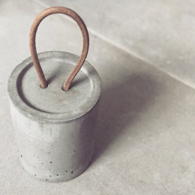 Concrete Door Stop - The Method