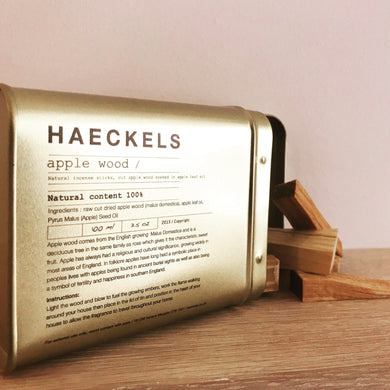 Haeckels Apple Incense Wood - The Method