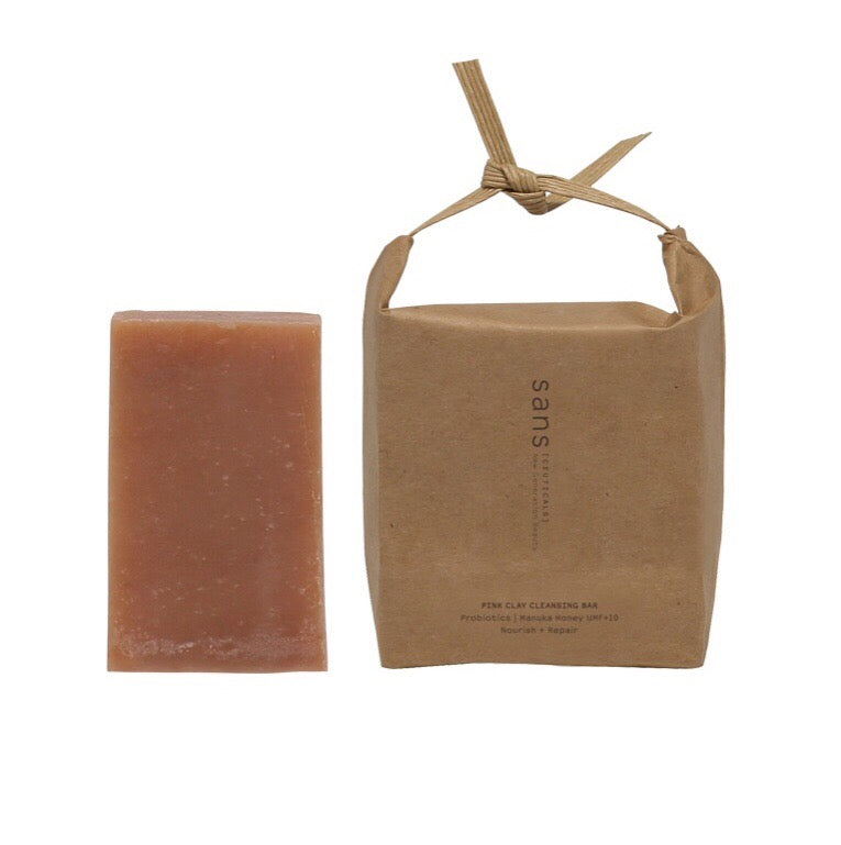 Sans [ceuticals] Pink Clay Cleansing Bar